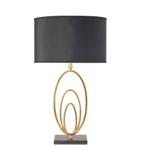 Table Lamp Gold Leaf