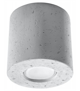 1 Light Surface Mounted Downlight Off White