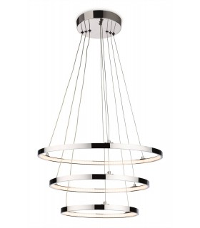 Integrated LED Ceiling Pendant Chrome