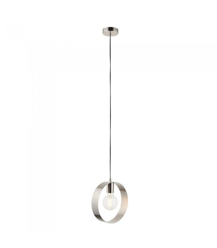 1 Light Ceiling Pendant Brushed Nickel