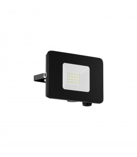 LED Outdoor Wall Flood Light Black IP65