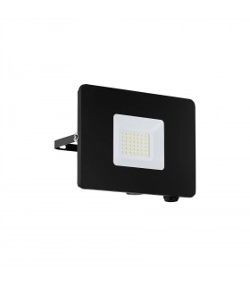 LED Outdoor Wall Flood Light Black IP44