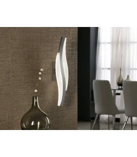 Integrated LED Wall Lamp Chrome