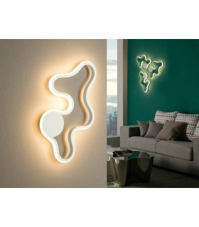 Integrated LED Wall Lamp White