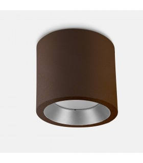 Outdoor LED Surface Mounted Ceiling Light Brown 12.6cm 1324lm 3000K IP65