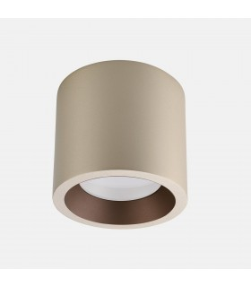 Outdoor LED Surface Mounted Ceiling Light Painted Gold 16.8cm 2526lm 3000K IP65
