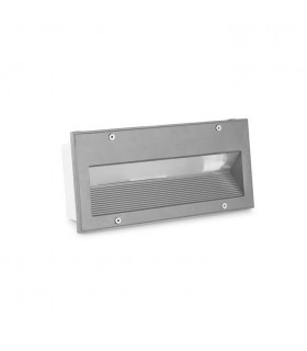 Outdoor LED Recessed Wall Light Micenas LED Grey 25.5cm 648lm 3000K IP65