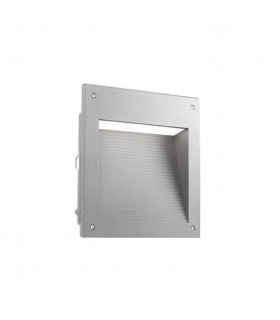 Outdoor LED Recessed Wall Light Micenas LED Grey 25cm 1862lm 3000K IP65