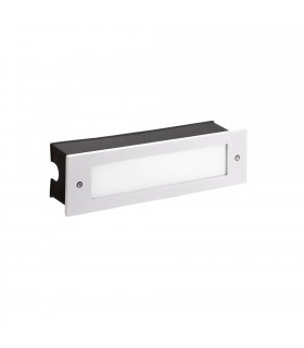 Outdoor LED Recessed Wall Light White 29.8cm 1215lm 4000K IP65