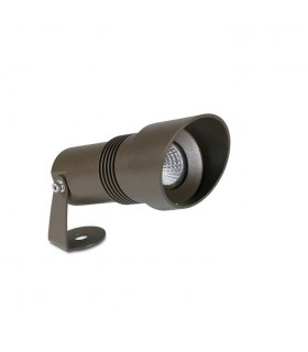 Outdoor LED Spotlight Brown 740lm 3000K IP65