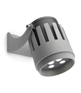 Outdoor LED Spotlight Grey 2162lm 4000K IP65