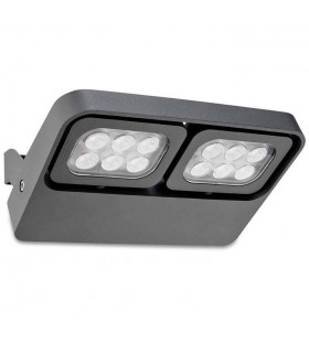 Outdoor LED Wall Light April Urban Grey 1135lm 3000K IP54