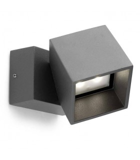 Outdoor LED Wall Light Urban Grey 1027lm 3000K IP65