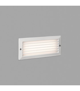 Outdoor LED Recessed Wall Light White 5W 3000K IP54