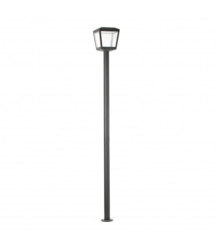 Outdoor LED Lamp Post Dark Grey 18W 3000K IP54