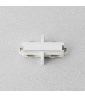 End to End Connector Track Lighting Matt White