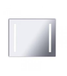 LED Illuminated Bathroom Mirrors Chrome IP47