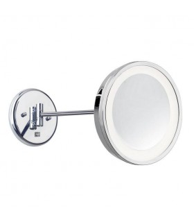 Reflex Adjustable Magnifying Mirror Wall Light - LEDS-C4 476-CR