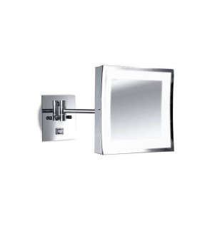 Adjustable Magnifying Mirror Wall Light