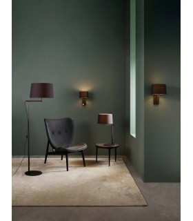 Table Lamp Bronze (Shade Not Included), E27