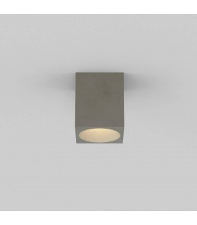 Outdoor Square Ceiling Light Concrete IP44