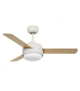 2 Light Ceiling Fan Old White