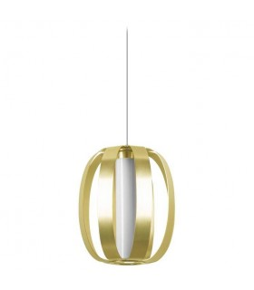 Small Spherical Ceiling Pendant Gold anodizing