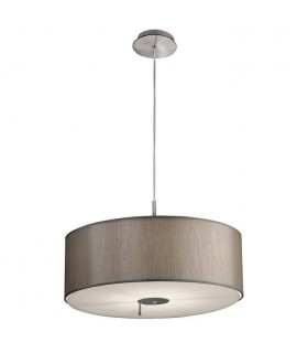 1 Light Ceiling Pendant Satin Nickel, E27