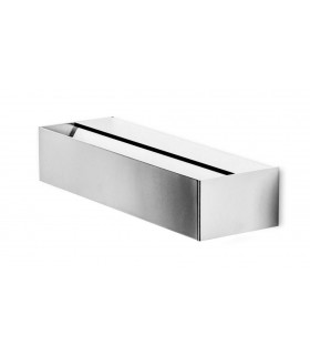 LED Up & Down Small Wall Light Satin Nickel