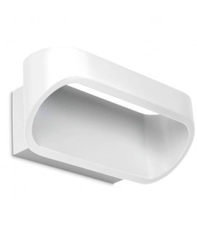 LED 1 Light Up & Down Small Wall Light White