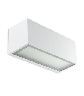 1 Light Up & Down Wall Light White