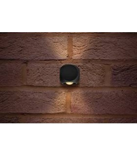 Outdoor LED Wall Light 2-Way IP54 230LM 6W 3000K