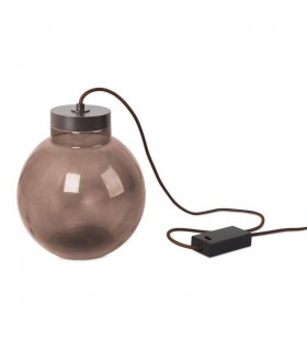 Integrated LED Floor Lamp Rusty Brown
