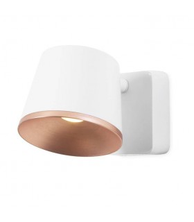 Integrated LED Indoor Wall / Ceiling Light White, Copper