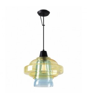 Colour Pendant Ceiling Light Yellow/Blue - LEDS-C4 00-5438-60-E7