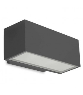 LED Light Outdoor Small Up / Down Wall Washer Light Urban grey IP65