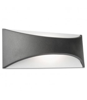 LED Outdoor Up Down Wall Light Urban Grey IP65