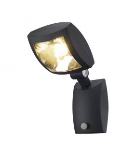 Wall Light, Anthracite, 12W Led, Warm White, With Motion Sensor, IP54
