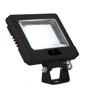 LED Outdoor Surface-Mounted Wall Light, 11W, Black, 4000K, IP65