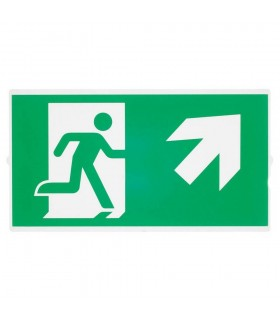 Emergency Stair Sign, Small, Green