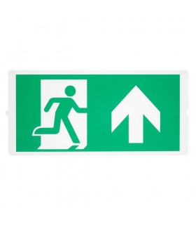 Emergency, Standard Signs For Area Light, Green
