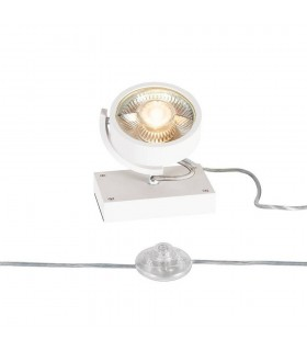 1 Light Floor Lamp, White