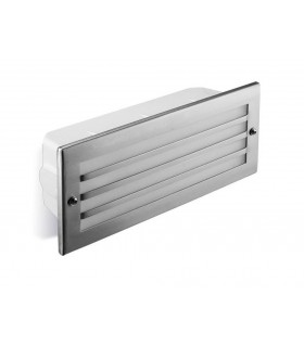 LED 1 Light Outdoor Wall Light Stainless steel AISI 316 IP44