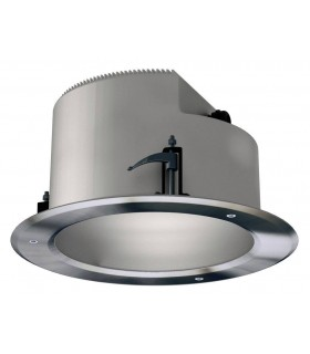 2 Light Double Round Outdoor Recessed Ceiling Light Stainless Steel Aisi 304 IP66