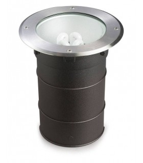 1 Light Recessed Floor Light Stainless Steel Aisi 316 IP67, E27