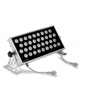 LED 28 Light Outdoor Wall Washer Light Aluminium IP65