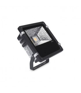 LED 1 Light Small Outdoor Spotlight Black IP65