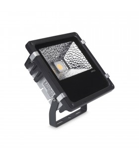 LED 1 Light Large Outdoor Spotlight Black IP65