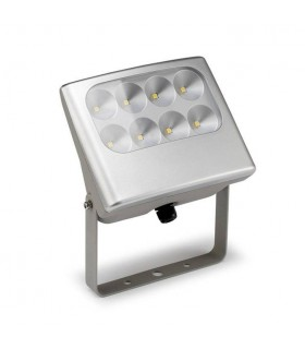 LED 8 Light Outdoor Spotlight Grey IP64