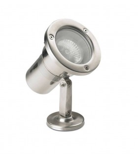 1 Light Outdoor Spotlight Stainless Steel Aisi 316 IP67